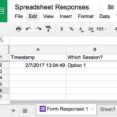 Thumbnail Size of Google Form Responses Do Not Appear In The Spreadsheet Division Of Information Technology Forms Into Sheets