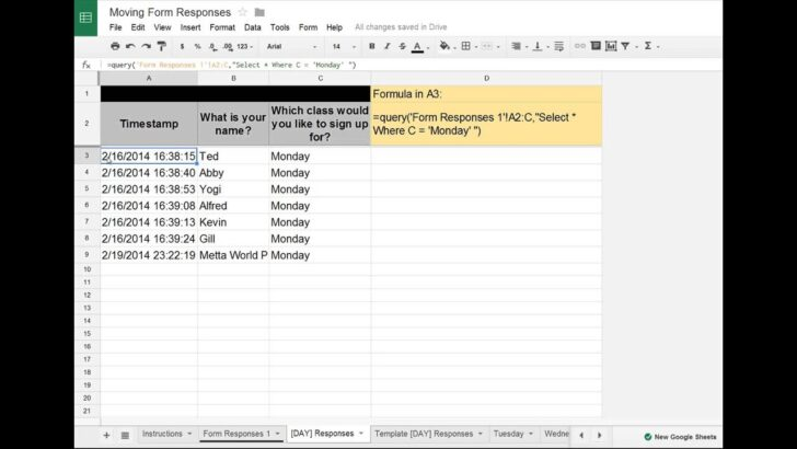 Medium Size of Google Sheets Forms Tip Moving Data To Separate Tabs Into Spreadsheet Agenda Template