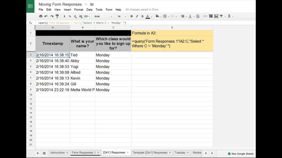Large Size of Google Sheets Forms Tip Moving Data To Separate Tabs Into Spreadsheet Agenda Template