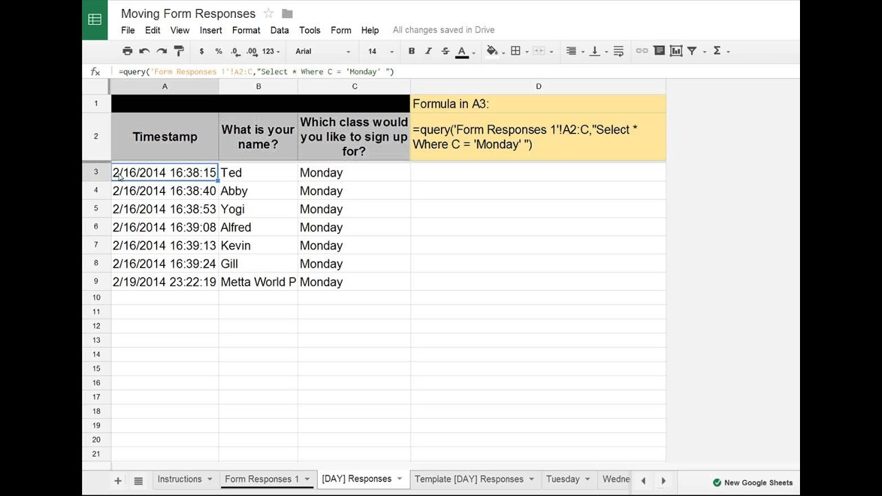 Full Size of Google Sheets Forms Tip Moving Data To Separate Tabs Into Spreadsheet Agenda Template