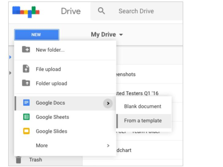 Medium Size of Google Workspace Updates Creating Files From Templates Now Easier In Drive Submenu Spreadsheet