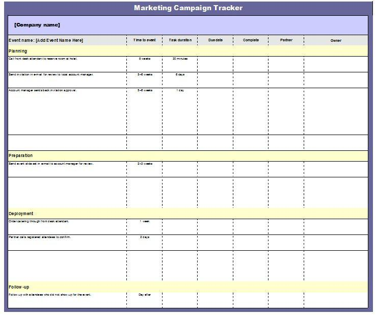 Full Size of Marketing Campaign Tracker Template Clickstarters Advertising Tracking 800x Excel Spreadsheet