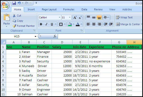 Full Size of Microsoft Office Training Employee Data Sheet Create Excel Part Free Financial Projection Spreadsheet List