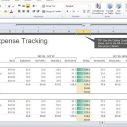 Project Cost Tracker Template For Excel Expense Tracking 580x355 Professional Business Spreadsheet