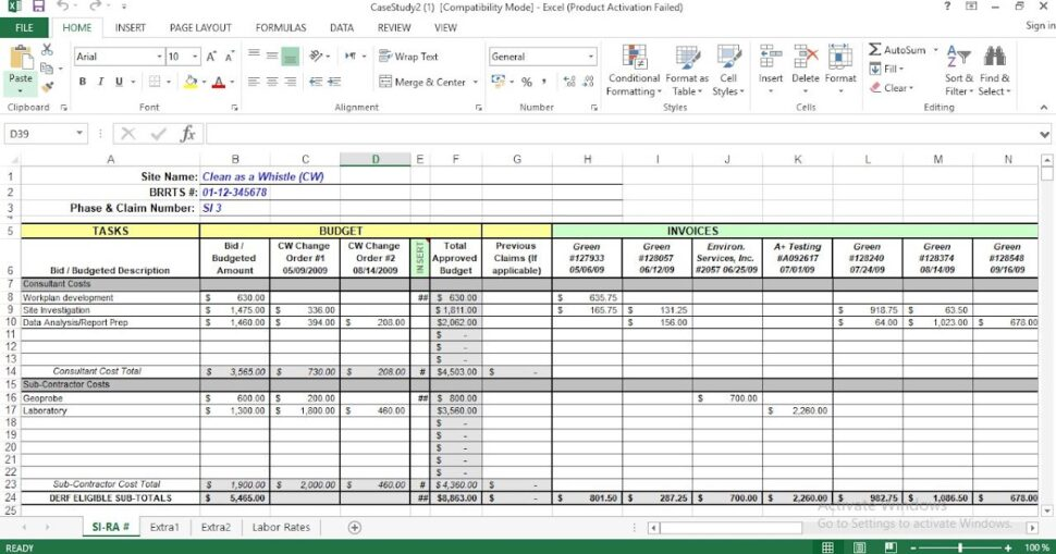 Large Size of Project Cost Tracking Excel Template Expense Free Business Logo Design Templates Poster Spreadsheet