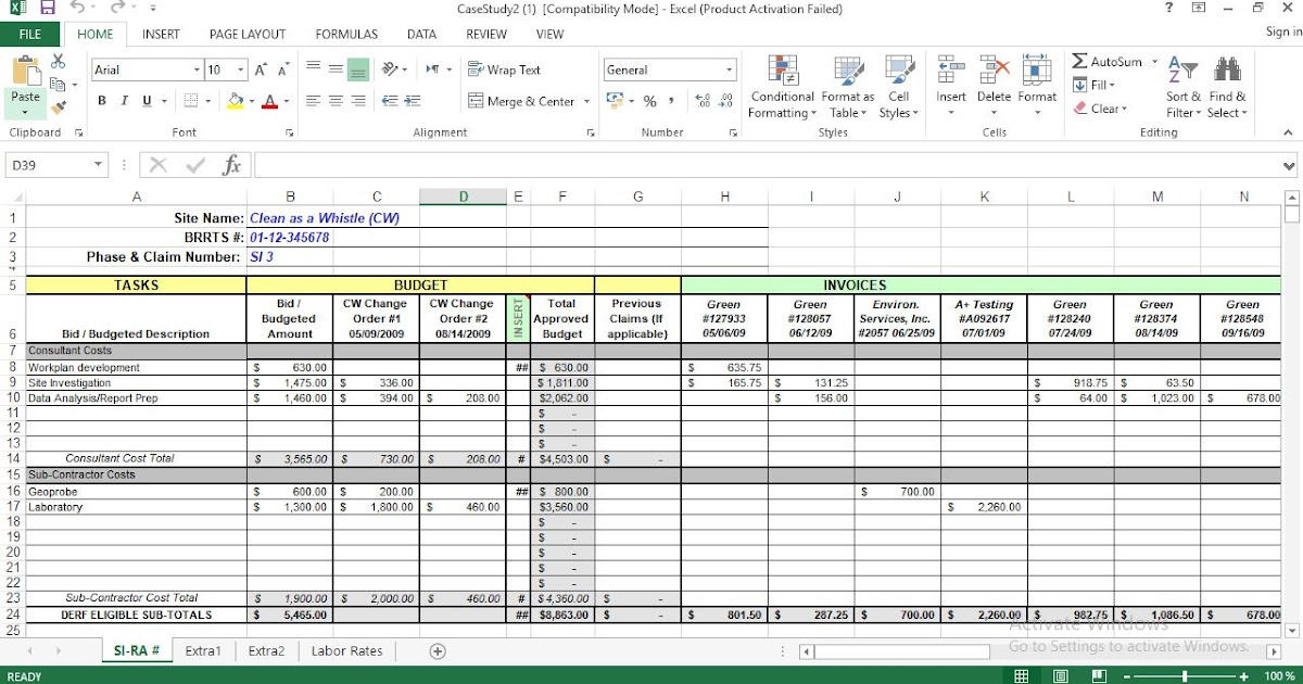 Full Size of Project Cost Tracking Excel Template Expense Free Business Logo Design Templates Poster Spreadsheet