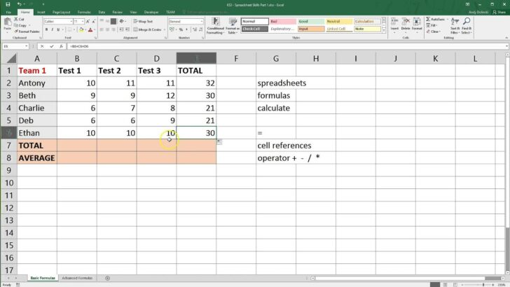 Spreadsheet Basics Microsoft Excel Office Templates For Money Management Character Count