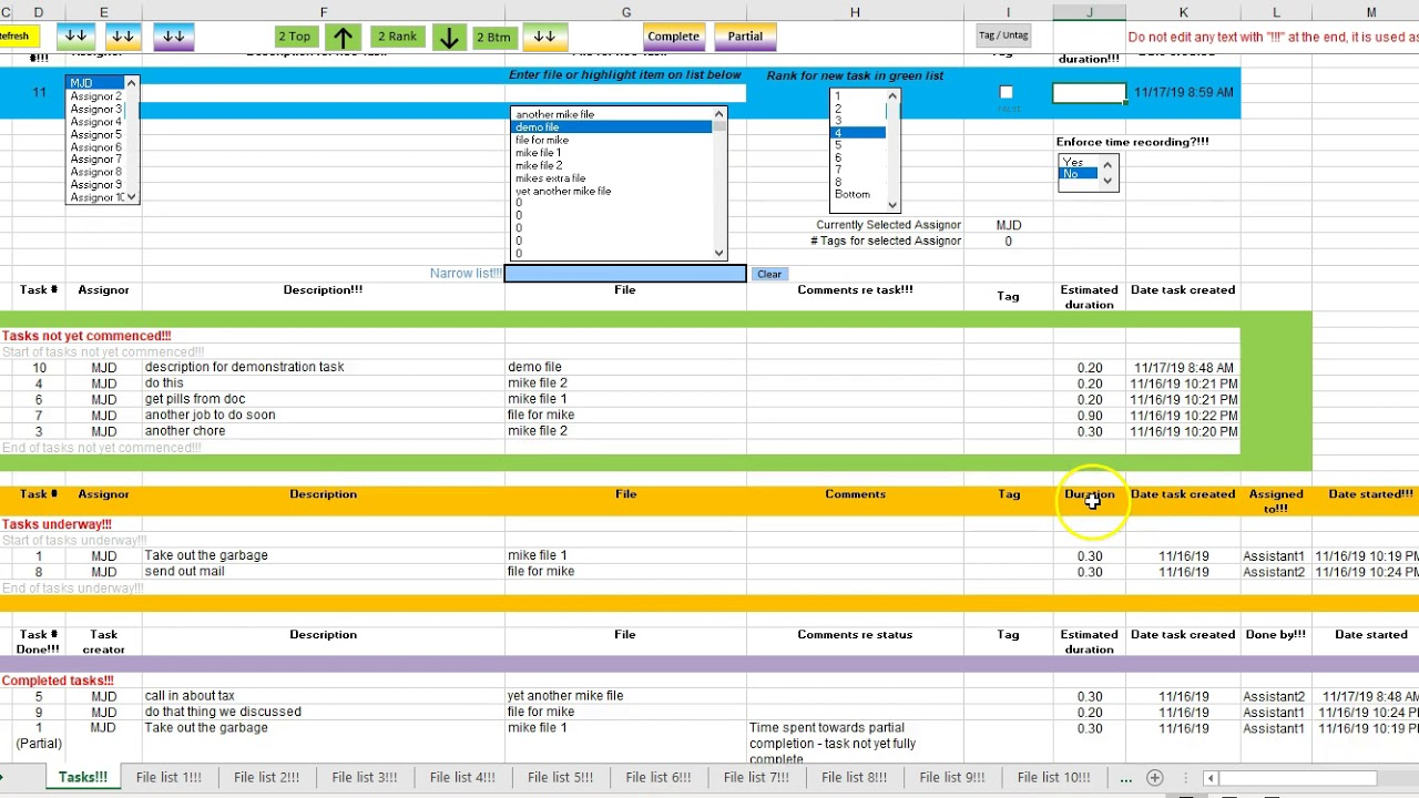 Full Size of Task Tracker Updates To Spreadsheet Excel Template Software Free Business Plan Templates