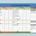 Thumbnail Size of Microsoft Excel Creating An Income Expenditure Spreadsheet By Tuutes And Template For