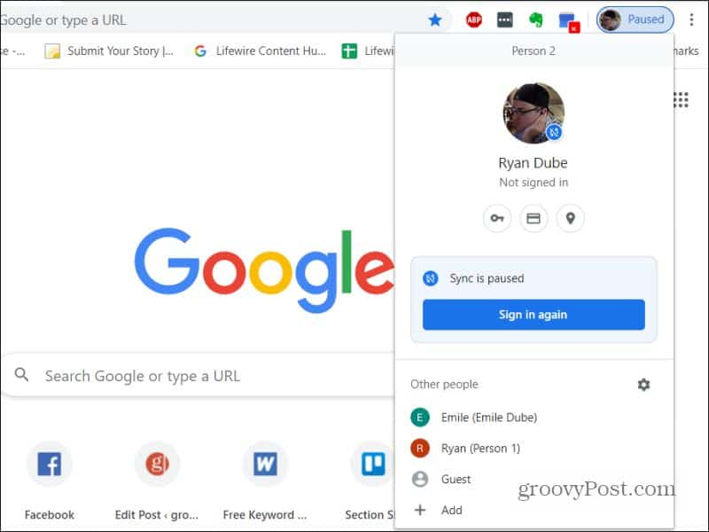 Full Size of To Change Default Google Account In Seconds Edit Chrome Multiple Accounts Restaurant Spreadsheet