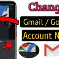 To Change Gmail Id Or Google Account Name Easy Fast Edit Business Templates Excel Spreadsheet