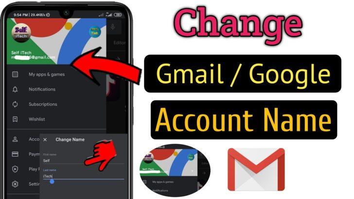 Medium Size of To Change Gmail Id Or Google Account Name Easy Fast Edit Business Templates Excel Spreadsheet