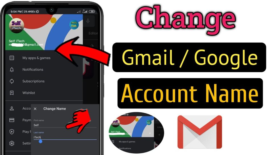 Large Size of To Change Gmail Id Or Google Account Name Easy Fast Edit Business Templates Excel Spreadsheet