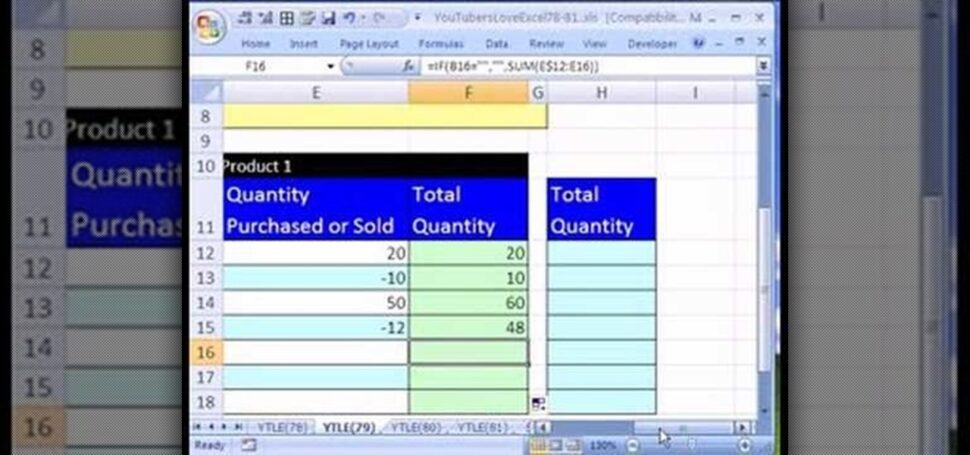 Large Size of To Create An Excel Inventory Template With Running Totals Microsoft Office Wonderhowto Spreadsheet Stationary