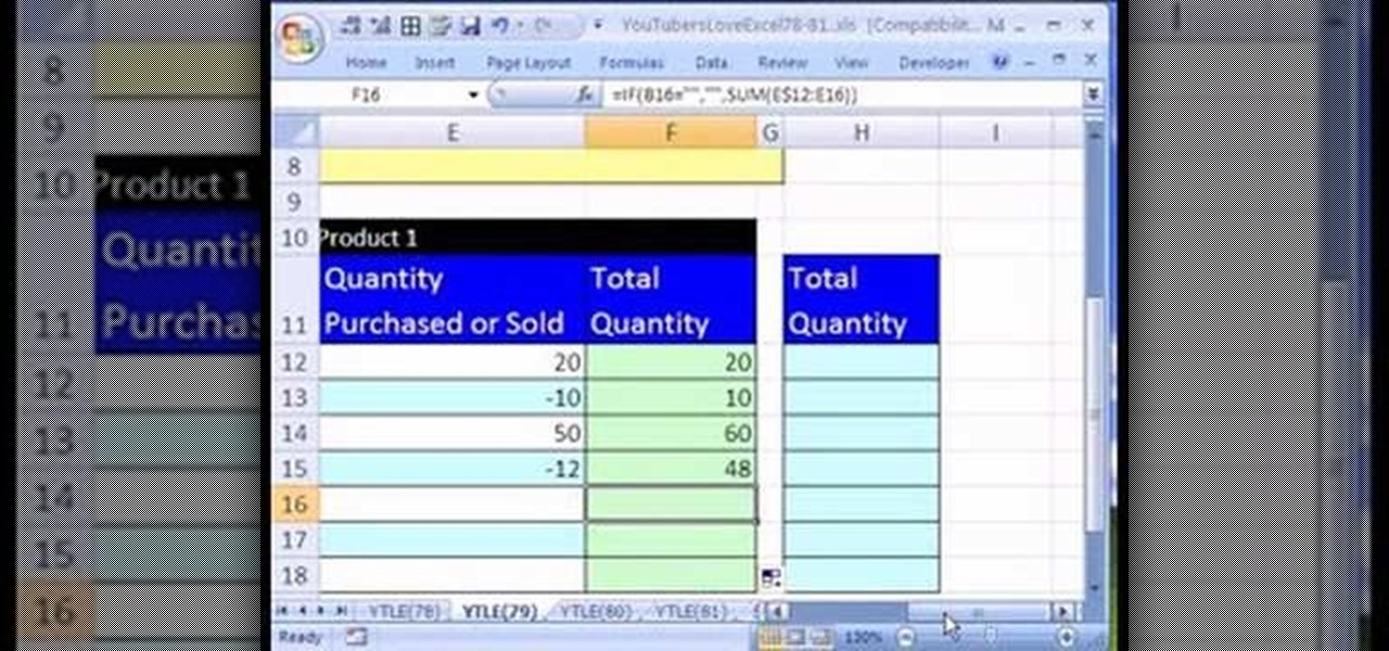 Full Size of To Create An Excel Inventory Template With Running Totals Microsoft Office Wonderhowto Spreadsheet Stationary