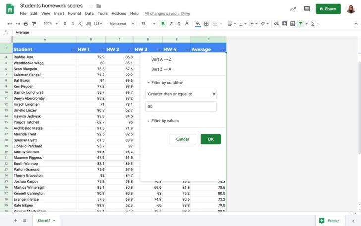 Medium Size of To Filter Google Sheets Without Affecting Other Users Sheetgo Blog Forms Into Condition Spreadsheet