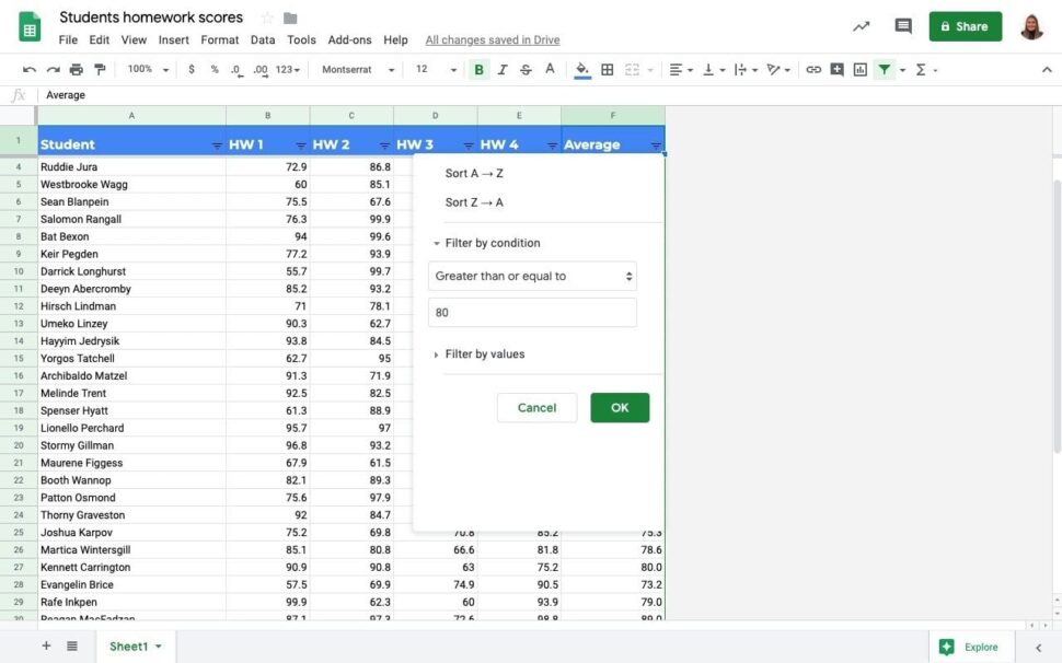 Large Size of To Filter Google Sheets Without Affecting Other Users Sheetgo Blog Forms Into Condition Spreadsheet