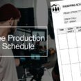 Thumbnail Size of Production Schedule Template In Excel Free Templates Final Small Business Spreadsheet For