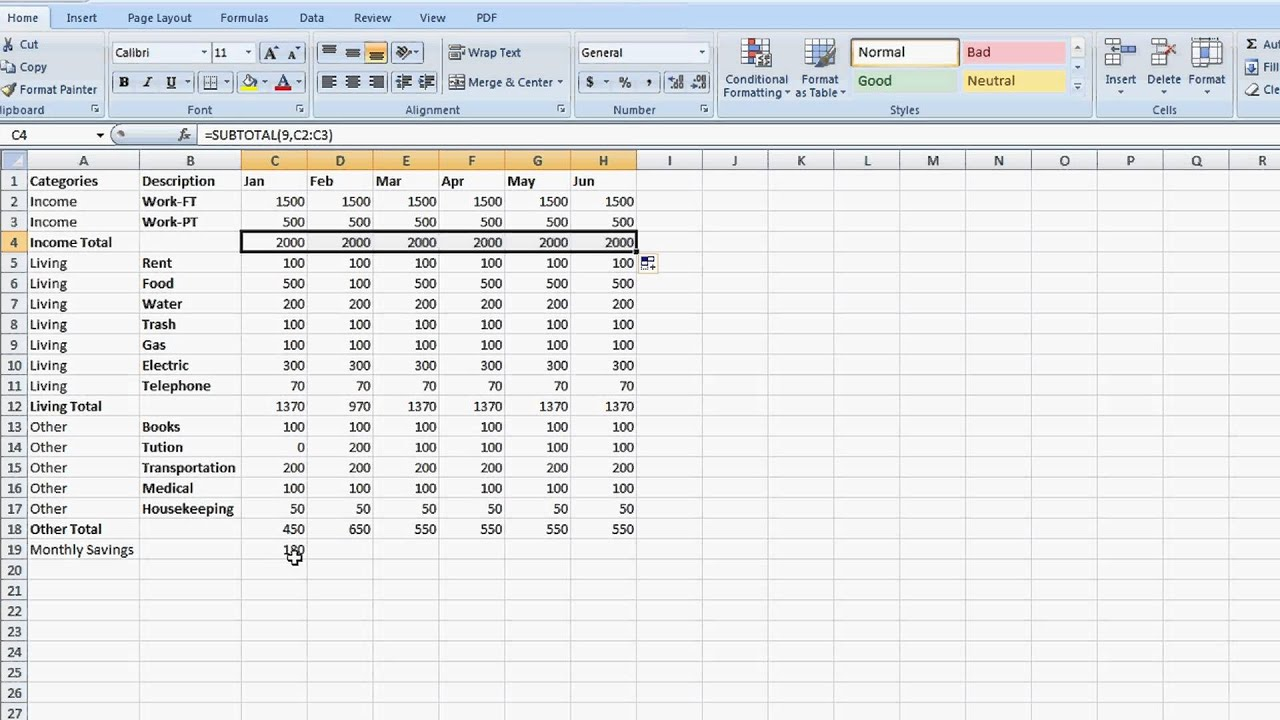 Full Size of Create Diagrams In Ms Visio By Linking Excel Spreadsheet An Tabkle For Expenses Monthly