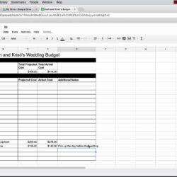 To Use Google Spreadsheet Plan Your Wedding Free Templates The Planner Drive Excel