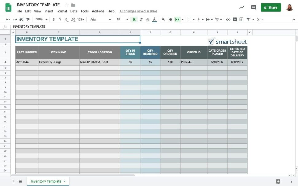 Large Size of Top Free Google Sheets Inventory Template Sheetgo Blog Drive Templates Smartsheet Thesis Spreadsheet
