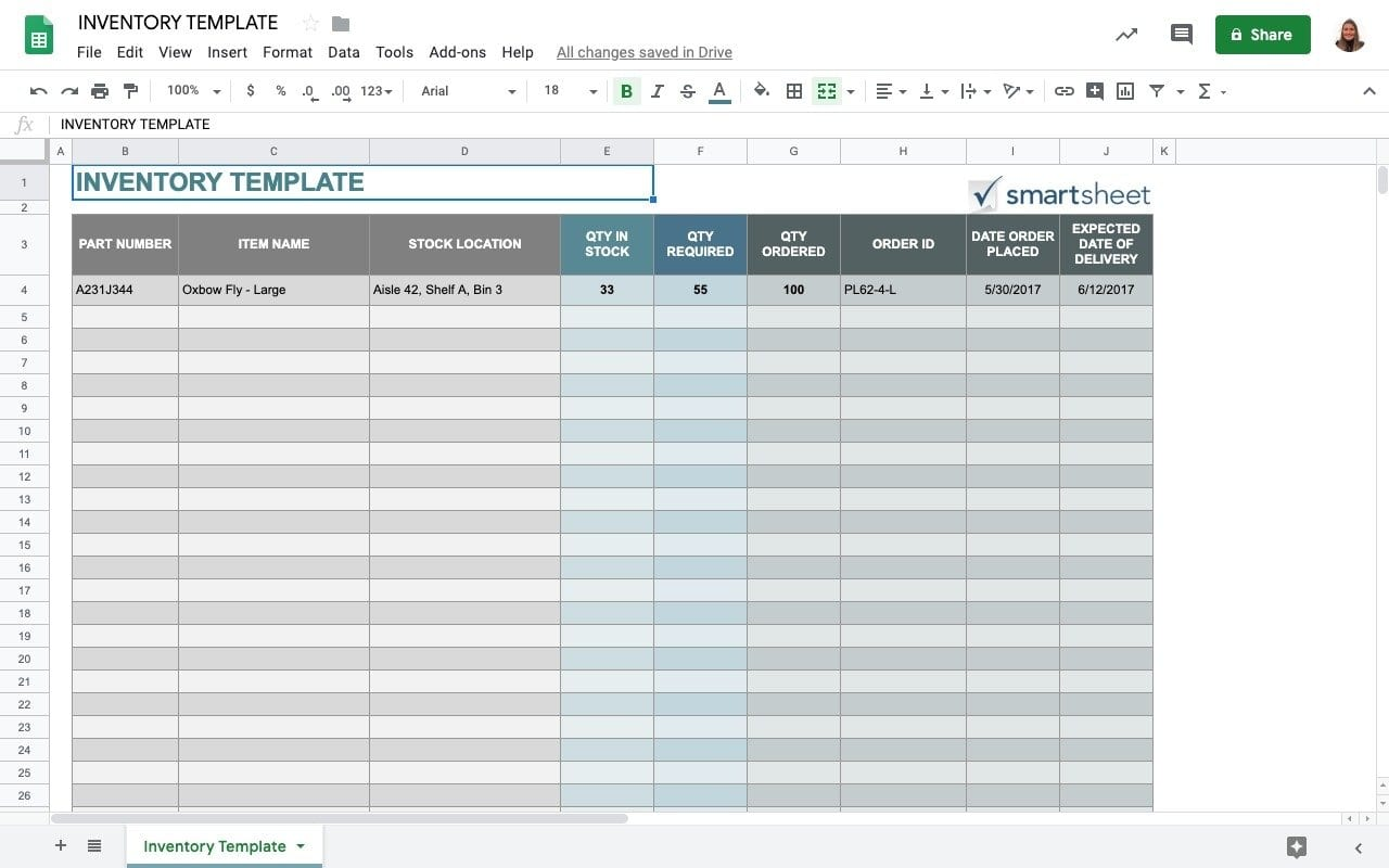 Full Size of Top Free Google Sheets Inventory Template Sheetgo Blog Drive Templates Smartsheet Thesis Spreadsheet